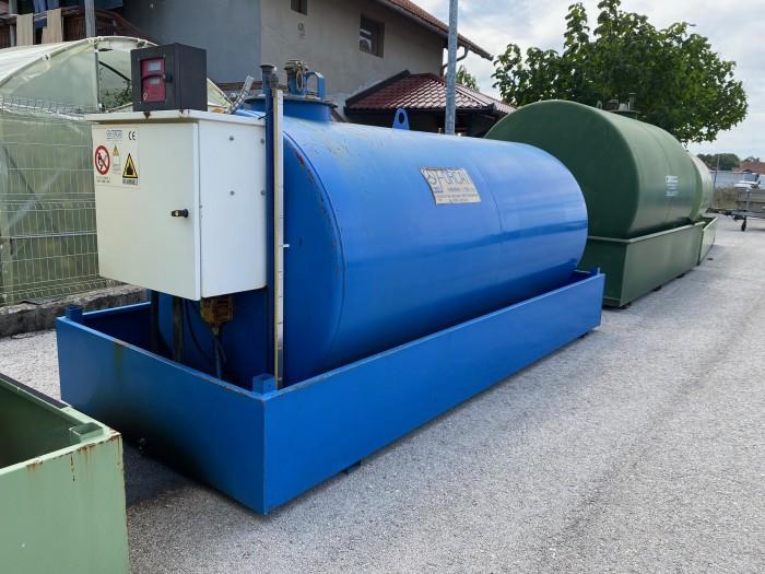 Cisterna za Gorivo 5000 Litara