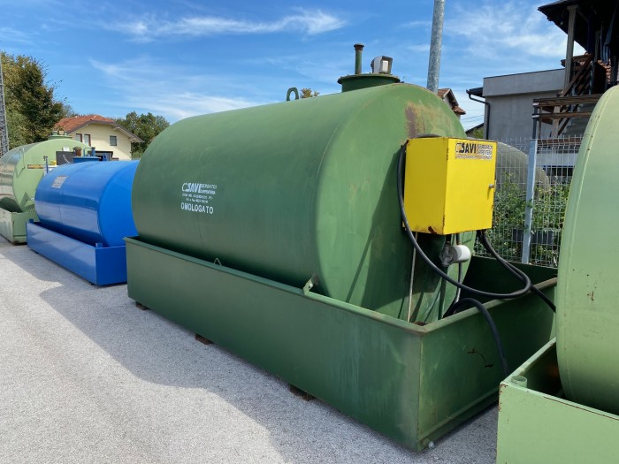 Cisterna za Gorivo 7000 litara